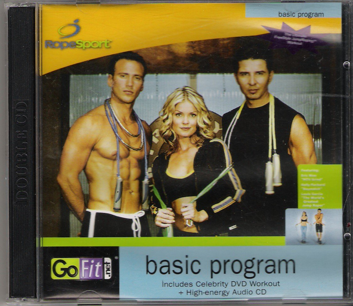 Fitness Music Dvd: GoFit Power Rope Contains Rope Sport DVD Workout, High