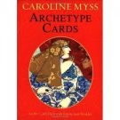 Caroline Myss Archetype Cards 80-Card Deck with instuction booklet 2003