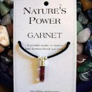 Garnet Pendant for Strengthening Bonds of Friendship and Love
