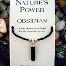 Obsidian Pendant for Protection