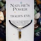 Tiger's Eye Pendant for Courage and Confidence