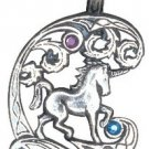 Fire & Ice Pendants, Unicorn, for Protection and Healing!!!!