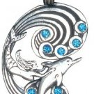 Fire & Ice Pendants, Mermaid & Dolphin, for Harmony and Happiness!!!!