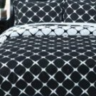 Home / RT™ 3pc Bloomingdale Egyptian Cotton Duvet Cover Set - Black/White
