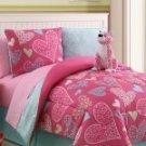 Reversible Floral Pink Zebra Bed in a Bag Multi-Color!!!!!
