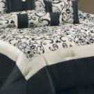HC 7pc  Guilana Floral Luxury Comforter Set!!!!