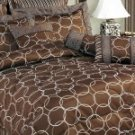 10 pc Bed-in a-Bag Olympia Choco Comforter Set!!!