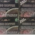 NEW! Reishi 2-IN-1™LOW CAFFEINE Ganoderma Healthy Coffee,120 Packs,4 Boxes (USA)