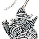 Legends of Rhiannon,Celtic Dragon Earrings for Leadership & Purity!!!!!!