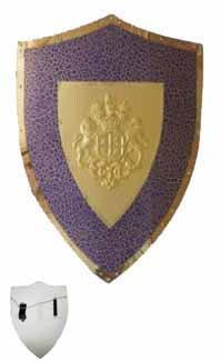 Blue Lion & Horse Shield