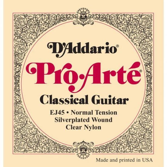 10 sets D'addario EJ45 Pro Arte Classical Guitar Strings