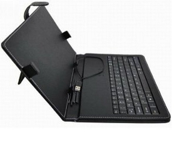 7inch tablet pc Keyboard Flip Stand Case Cover USB Keyboard