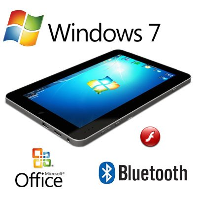 "9.7"" WinPad N2600 Windows 7 Multi Touch 3G 32GB SSD 2GB Ram tablet pc laptop"