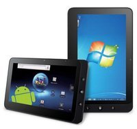 "10.1"" Pineview N455 Windows 7 android  dual system Multi Touch 3G 16GB SSD 1GB Ram tablet pc laptop"