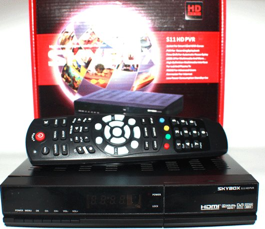 2012 New Skybox S11 HD PVR satellite receiver