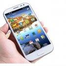 "Star S9500 Galaxy S4 SIV Smartphone MTK6589 Quad Core 5"" 12 MP Camera 1GB RAM 4GB ROM white"