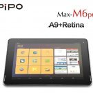 PIPO M6 pro 3G GPS 9.7 inch Retina RK3188 Quad-Core HDMI Android 4.2 Tablet PC 2GB/32GB Black