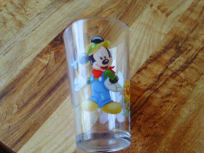 Disney Mickey and Minnie Glass Cup