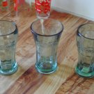 Coca Cola Clear Glasses