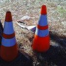 2 Road Cones
