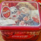 Coca Cola Tin Container #1