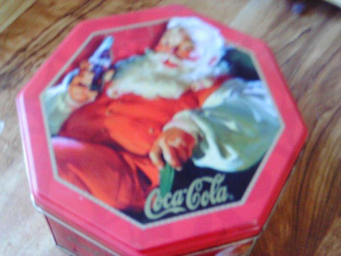 Coca Cola Tin Container #3