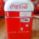 Coca Cola Old Timey Vending Machine Container