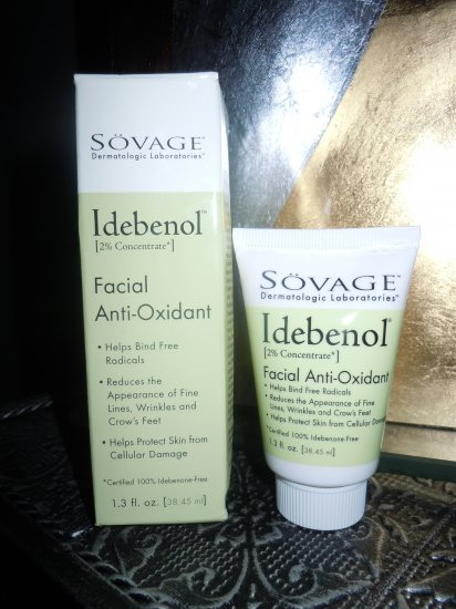 SOVAGE Idebenol Facial Anti Oxidant Treatment 1.3 oz