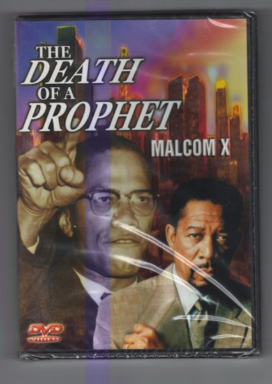 The death of a prophet Malcom X  DVD movie Morgan Freeman