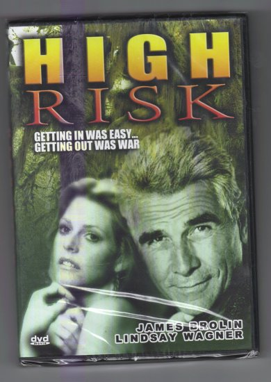 High Risk DVD movie James Brolin Lindsay Wagner