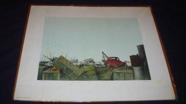 Herb Jones Print ~ End Of The Season ~ 1980 Limited Ed
