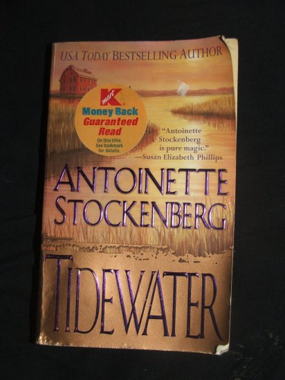 TIDEWATER BY Antonoinette Stockenberg Soft Cover Used