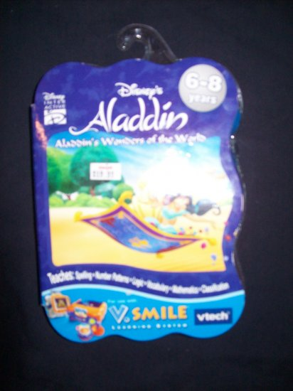 VSMILE ALADDIN SMARTRIDGE NEW IN PACKAGE