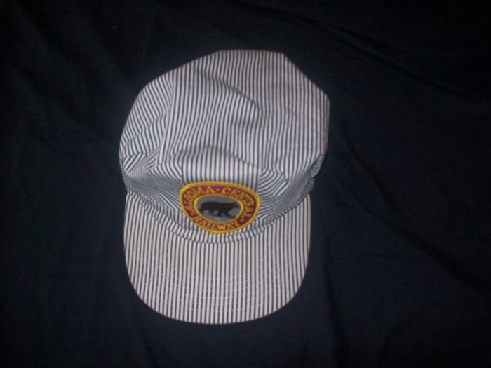 ALGOMA CENTRAL RAILWAY TRAIN CONDUCTORS HAT