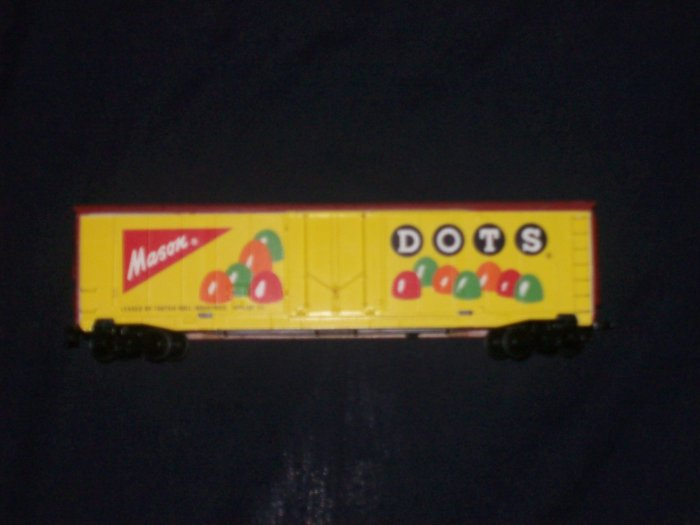 TYCO HO SCALE MASON DOTS CANDY TRIX 91576 FREIGHT TRAIN