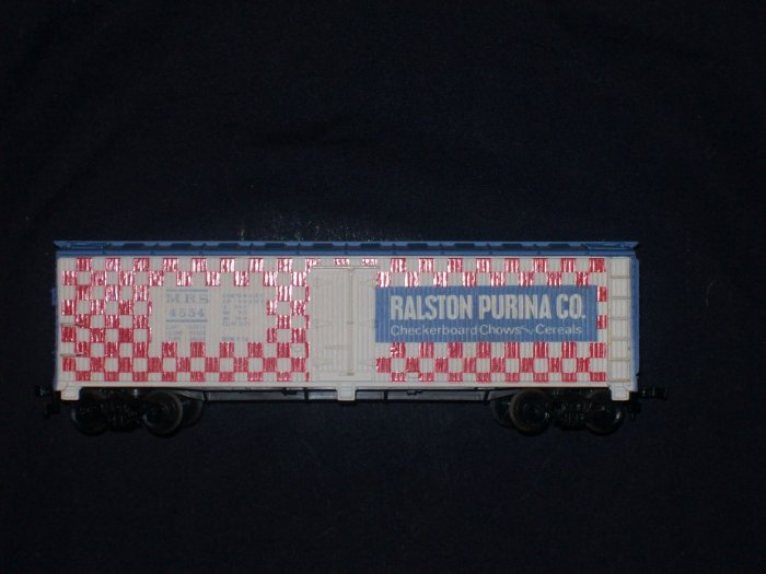 1970'S TYCO TRAIN BILLBOARD REEFER 40' RALSTON #355
