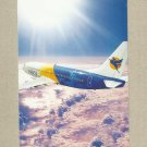 MAI MYANMAR AIRWAYS INTERNATIONAL ISSUED PROMOTIONAL POSTCARD