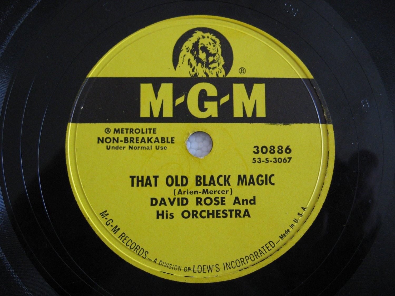 David Rose  -  That Old Black Magic   (Vinyl Record)