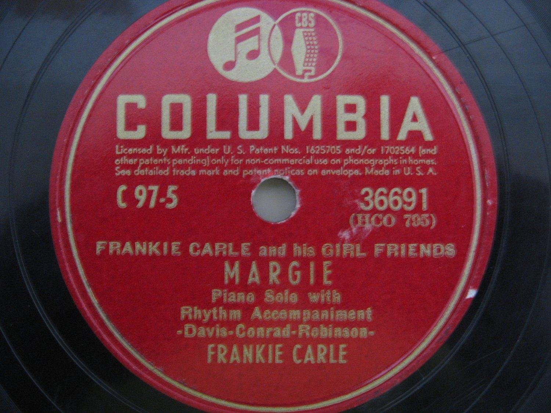 Frankie Carle Rose Marie Vinyl Record