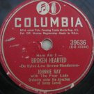Johnnie Ray  -  Broken Hearted   (Vinyl Record)