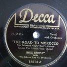 Bing Crosby - The Road To Morocco  (Vinyl Record)