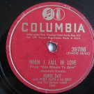 Doris Day & Percy Faith  -  When I Fall In Love   (Vinyl Record)