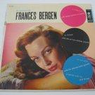 Frances Bergen - The Beguiling Miss Fances Bergen  (Vinyl Record)