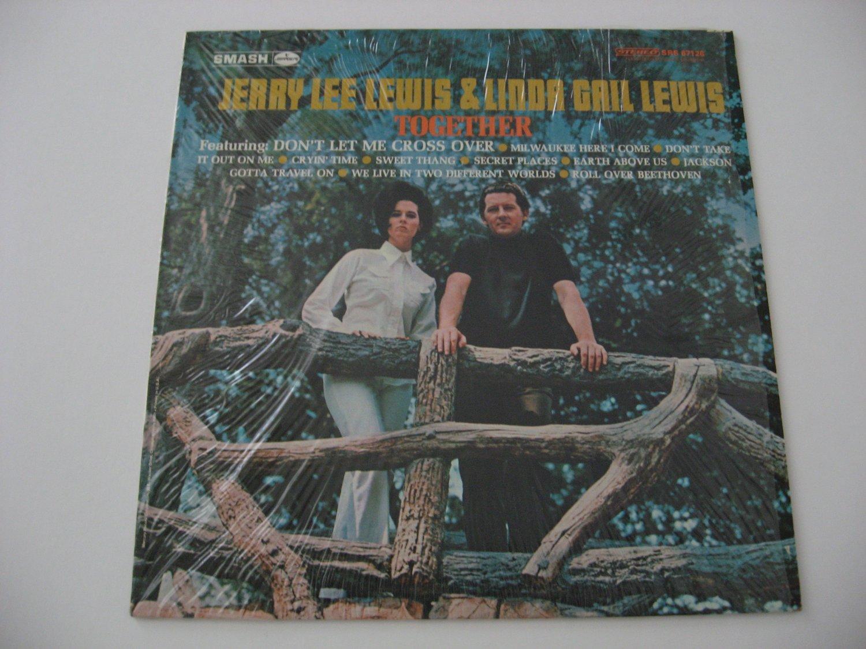 Jerry Lee Lewis & Linda Gail Lewis - Together  (Vinyl Record)