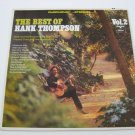 Hank Thompson - The Best Of Hank Thompson  (Vinyl Record)