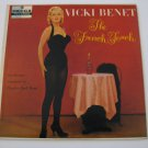 Vicki Benet  -  The French Touch - Double Image!  (Vinyl records)