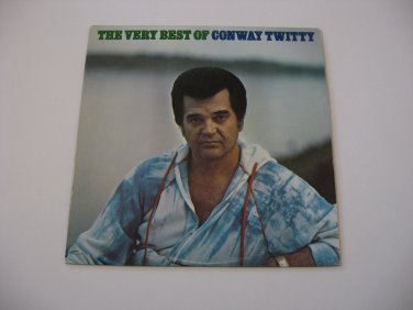 Conway Twitty - The Very Best Of Conway Twitty  (Vinyl Records)