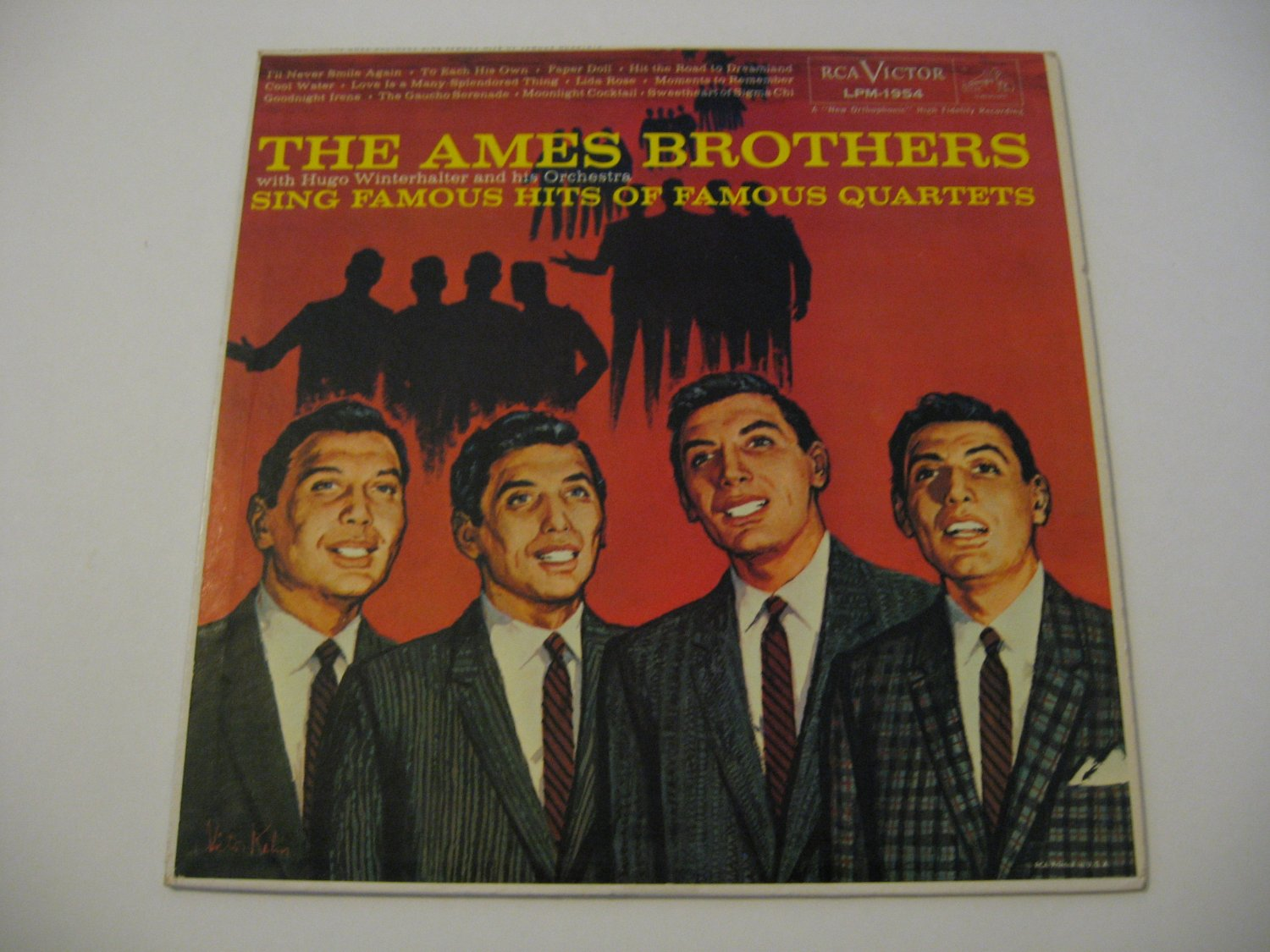 The Ames Brothers Sing Famous Quartets Hits 1959