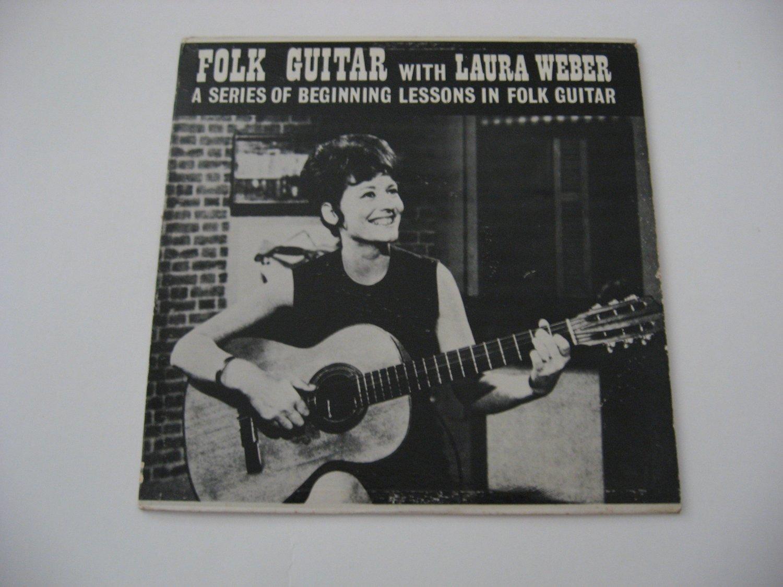 Laura Weber  Folk Guitar Lessons  1966 (vinyl Records