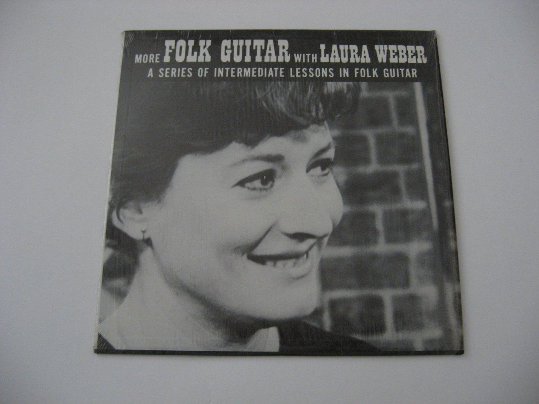 Laura Weber  Folk Guitar Lessons  Volume 2  1967 (vinyl